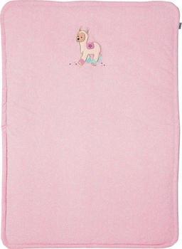 Sterntaler Schmusedecke Lama Lotte 75 x 100 cm rosa