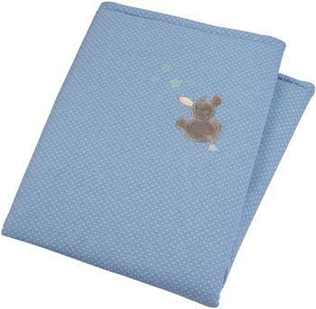 Sterntaler Schmusedecke Emmi 100 x 75 cm blau