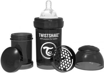 Twistshake Anti-colic Black 180 ml