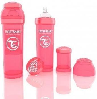 Twistshake Anti-colic coral 330 ml