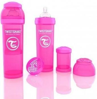 Twistshake Anti-colic pink 330 ml