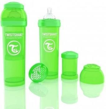 Twistshake Anti-colic green 330 ml