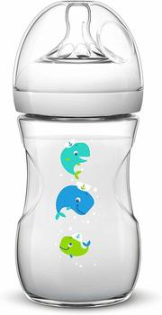 Avent Naturnah - Babyflasche 260 ml (SCF627) Wal