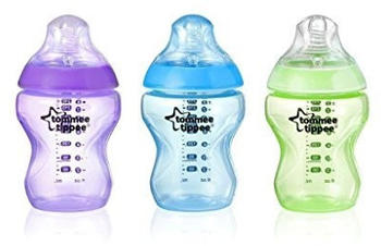 Tommee Tippee Closer to Nature Colour My World 260ml 3-pack
