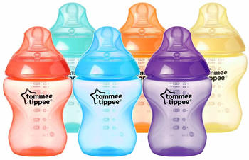Tommee Tippee Closer to Nature Fiesta Bottles 260ml 6-pack