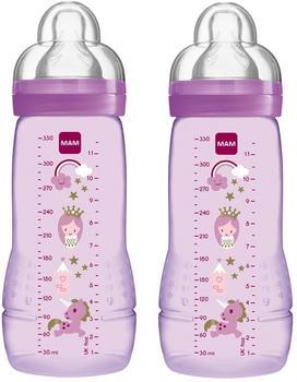 MAM Easy Active Baby Bottle 330ml 2-pack