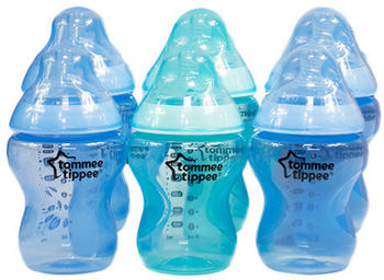 Tommee Tippee 6x Baby Bottle Closer to Nature (260 ml)