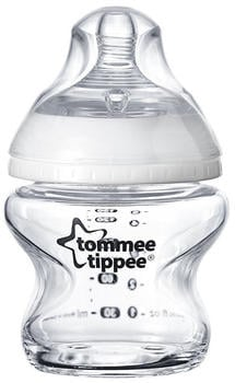 Tommee Tippee Closer to Nature Baby Bottle Glass (150 ml)
