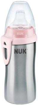 NUK Active Cup Edelstahl 215 ml pink