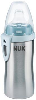 NUK Active Cup Edelstahl 215 ml blau