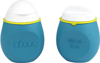 Beaba Set Babysqueez 2 in 1 & Squeez Portion 180 ml azul
