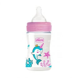 Chicco Wellbeing Baby Bottle Slow Flow 150 ml