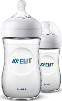 Philips Avent Philips AVENT Natural Flasche 260ml 2 Stk. (SCF033/27)