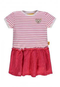 Steiff Dress mit Streifen und Lochmuster (6833328-0001)