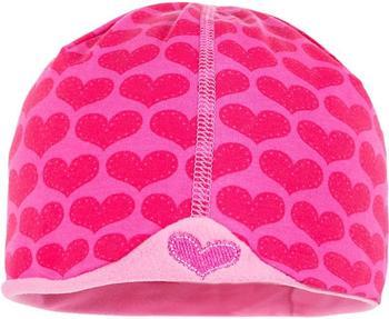 Maximo Baby-Beanie Herzen (63500-945000-19) rosa