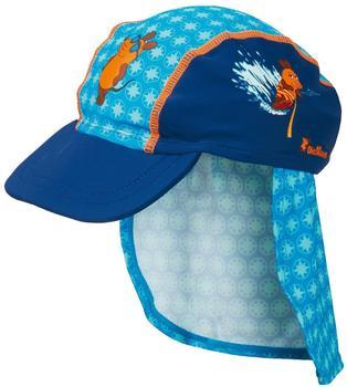 Playshoes Baby-Sommermütze die Maus (461108-11) blau