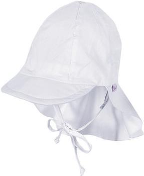 Sterntaler Schirmmütze mit Nackenschutz (1511410) weiß