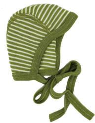 Cosilana Babyhäubchen (71090) green geringelt