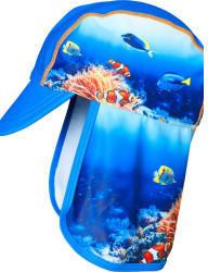 Playshoes UV-Schutz Mütze Unterwasserwelt (461258-7)