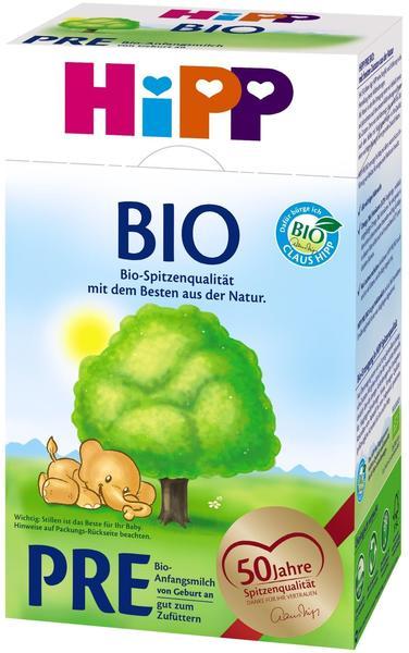 HiPP Bio Pre Anfangsmilch 600 g