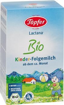 Töpfer Lactana Kinder-Bio-Folgemilch (500 g)