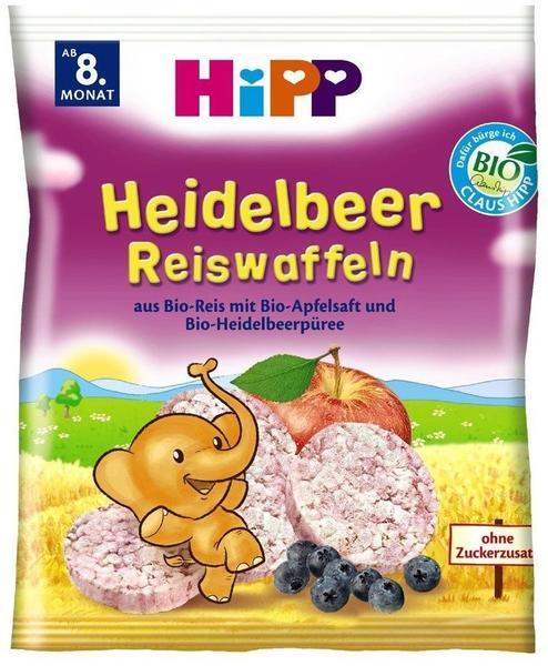 Hipp Heidelbeer Reiswaffeln (30 g)