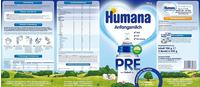 Humana Pre Anfangsmilch 700 g