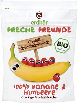 erdbär Freche Freunde Bio Fruchtchips Banane & Himbeere 10 x 16 g