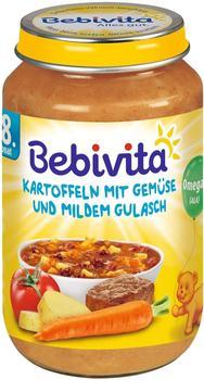 Bebivita Kartoffeln mit Gemüse und mildem Gulasch (220 g)