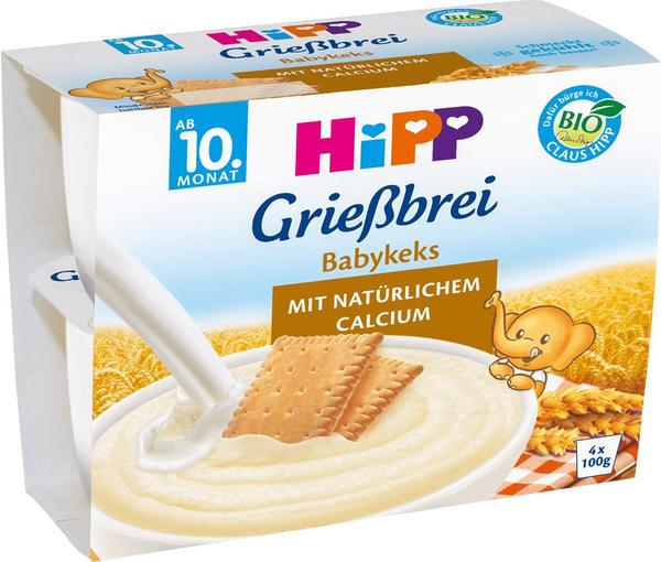 Hipp Grießbrei Babykeks (4x100 g)