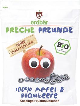 erdbär Freche Freunde Fruchtchips Apfel & Blaubeere (16g)