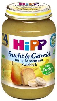 HiPP Bio Frucht & Getreide Birne-Banane mit Zwieback 6 x 190 g