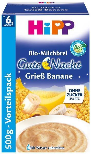 Hipp Gute Nacht Grieß Banane (500g)