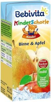 Bebivita KinderSchorle Birne & Apfel (200 ml)