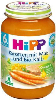 Hipp Karotten mit Mais und Bio-Kalb (190 g)