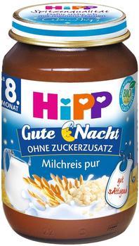 HiPP Bio Gute Nacht Milchreis pur 190 g