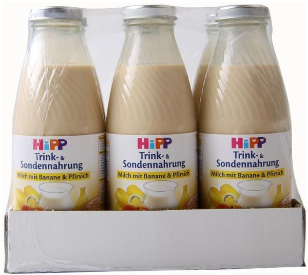 Hipp Sondennahrung Milch mit Banane & Pfirsich (500 ml)