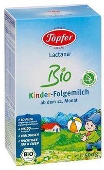 Töpfer Lactana Bio Kinder-Folgemilch 500 g