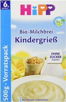 Hipp Bio-Milchbrei Kindergrieß (500 g)