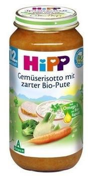 Hipp Gemüse Risotto mit zarter Bio Pute (250 g)