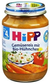 Hipp Gemüsereis mit Bio-Hühnchen (190 g)