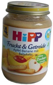 HiPP Bio Frucht & Getreide Apfel-Banane mit Babykeks 190 g