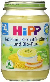 HiPP Menü Mais mit Kartoffelpüree und Bio-Pute 190 g