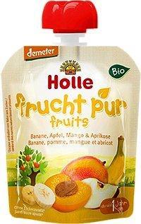 Holle Pouchy Banane, Apfel, Mango & Aprikose (90 g)