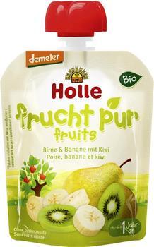 Holle Pouchy Birne & Banane mit Kiwi (90 g)