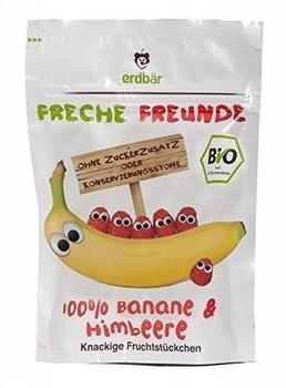 erdbär Freche Freunde Fruchtchips Banane & Himbeer (16g)