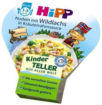 Hipp Kinder-Bio-Teller Nudeln mit Wildlachs in Kräuterrahmsauce (250 g)