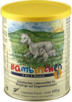 Bambinchen 1 aus Ziegenmilch (400 g)