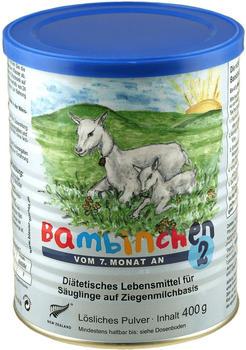 Bambinchen 2 aus Ziegenmilch (400 g)