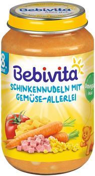 Bebivita Schinkennudeln mit Gemüse-Allerlei 220 g